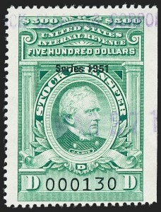 "Sale Number 1222, Lot Number 2094, Stock Transfer (RD)$500.00 Bright Green, ""Series 1951"" Ovpt., Stock Transfer (RD360), $500.00 Bright Green, ""Series 1951"" Ovpt., Stock Transfer (RD360)"