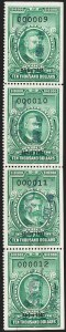 "Sale Number 1222, Lot Number 2095, Stock Transfer (RD)$10,000.00 Bright Green, ""Series 1951"" Ovpt., Stock Transfer (RD364), $10,000.00 Bright Green, ""Series 1951"" Ovpt., Stock Transfer (RD364)"