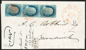 Sale Number 1223, Lot Number 8132, 1851-56 Issue1c Blue, Ty. II (7), 1c Blue, Ty. II (7)