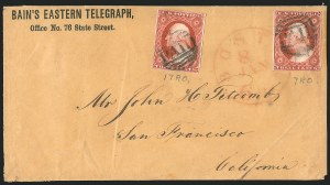 Sale Number 1223, Lot Number 8135, 1851-56 Issue3c Orange Brown, Ty. II (10A), 3c Orange Brown, Ty. II (10A)