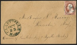 Sale Number 1223, Lot Number 8139, 1851-56 Issue3c Brownish Carmine, Ty. II (11A), 3c Brownish Carmine, Ty. II (11A)