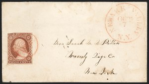 Sale Number 1223, Lot Number 8142, 1851-56 Issue3c Dull Red, Ty. II (11A), 3c Dull Red, Ty. II (11A)