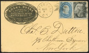 Sale Number 1223, Lot Number 8215, 1861-68 Issues1c Blue, F. Grill (92), 1c Blue, F. Grill (92)