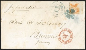 Sale Number 1223, Lot Number 8224, 1869 Pictorial Issue10c Yellow (116), 10c Yellow (116)