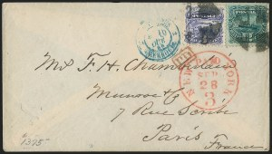 Sale Number 1223, Lot Number 8227, 1869 Pictorial Issue12c Green (117), 12c Green (117)