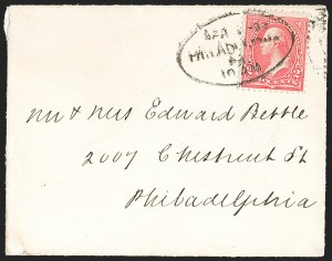 Sale Number 1223, Lot Number 8298, 1890-93 thru 1894-98 Bureau Issue2c Red, Ty. IV (279B), 2c Red, Ty. IV (279B)