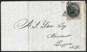 Sale Number 1223, Lot Number 8360, 1844-45 Independent MailsLetter Express (Wells), 5c Black on Pink Glazed (96L1), Letter Express (Wells), 5c Black on Pink Glazed (96L1)