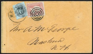 Sale Number 1223, Lot Number 8378, Local PostsBoyd's City Express, New York N.Y., Cover Collection (20L4/20L35), Boyd's City Express, New York N.Y., Cover Collection (20L4/20L35)