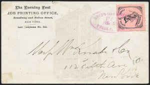 Sale Number 1223, Lot Number 8379, Local PostsBoyd's City Express, New York N.Y., Mercury Series, Cover Collection (20L47/20L56), Boyd's City Express, New York N.Y., Mercury Series, Cover Collection (20L47/20L56)