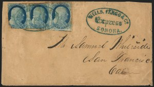 Sale Number 1223, Lot Number 8452, California and Western Mails1c Blue, Ty. IV (9), 1c Blue, Ty. IV (9)