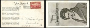 Sale Number 1223, Lot Number 8566, 20th Century and Air Post Covers2c Hudson-Fulton (372), 2c Hudson-Fulton (372)