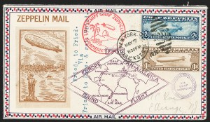 Sale Number 1223, Lot Number 8574, 20th Century and Air Post Covers$1.30-$2.60 Graf Zeppelin (C14-C15), $1.30-$2.60 Graf Zeppelin (C14-C15)