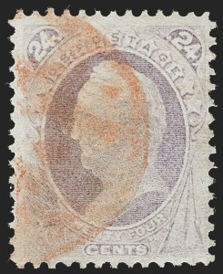 Sale Number 1224, Lot Number 142, 1870-88 Bank Note Issues24c Purple, H. Grill (142), 24c Purple, H. Grill (142)