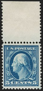 Sale Number 1224, Lot Number 196, Washington-Franklin and Panama Pacific Issues5c Blue, Bluish (361), 5c Blue, Bluish (361)
