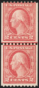 Sale Number 1224, Lot Number 203, 1914-1922 and Later Issues2c Red, Ty. I, Coil (449), 2c Red, Ty. I, Coil (449)
