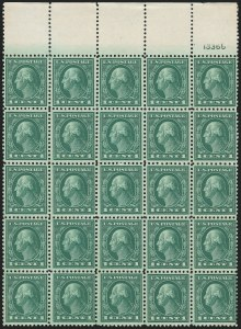 Sale Number 1224, Lot Number 208, 1914-1922 and Later Issues1c Green, Perf 10 at Top or Bottom (498g), 1c Green, Perf 10 at Top or Bottom (498g)