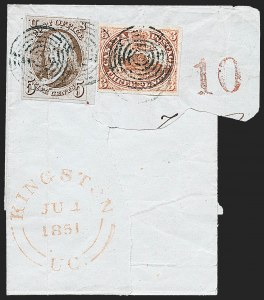 Sale Number 1224, Lot Number 25, 1847 Issue5c Red Brown (1), 5c Red Brown (1)