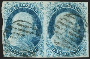 Sale Number 1224, Lot Number 30, 1851-56 Issue1c Blue, Ty. I-Ib (5-5A), 1c Blue, Ty. I-Ib (5-5A)