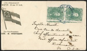 Sale Number 1225, Lot Number 148, C.S.A. Patriotic Covers5c Green, Stone 2 (1), 5c Green, Stone 2 (1)