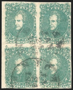 Sale Number 1225, Lot Number 203, Lithographed Issues (Scott 3-4)2c Green (3), 2c Green (3)