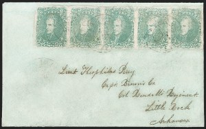 Sale Number 1225, Lot Number 211, Lithographed Issues (Scott 3-4)2c Green (3), 2c Green (3)