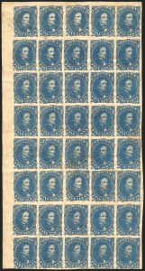 Sale Number 1225, Lot Number 213, Lithographed Issues (Scott 3-4)5c Blue, Stone 2 (4), 5c Blue, Stone 2 (4)