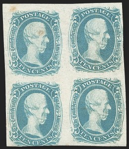 "Sale Number 1225, Lot Number 263, Engraved Issues (Scott 8-10)10c Blue, ""TEN"" (9), 10c Blue, ""TEN"" (9)"