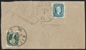 Sale Number 1225, Lot Number 302, Engraved Issues (Scott 11-13)20c Green (13), 20c Green (13)