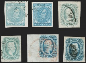 Sale Number 1225, Lot Number 326, Group Lots5c and 10c General Issues (6, 7, 11, 11c, 12, 12), 5c and 10c General Issues (6, 7, 11, 11c, 12, 12)