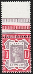 Sale Number 1226, Lot Number 1053, Great Britain - Queen VictoriaGREAT BRITAIN, 1887-92, -1/2p-10p Jubilee Issue (111-121; SG 197/210b), GREAT BRITAIN, 1887-92, -1/2p-10p Jubilee Issue (111-121; SG 197/210b)
