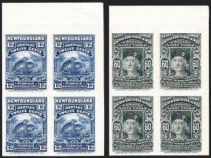 Sale Number 1226, Lot Number 1119, Canadian ProvincesNEWFOUNDLAND, 1897, 1c-60c Anniversary of Cabot's Discovery, Plate Proofs on India (Unitrade 61P-74P), NEWFOUNDLAND, 1897, 1c-60c Anniversary of Cabot's Discovery, Plate Proofs on India (Unitrade 61P-74P)