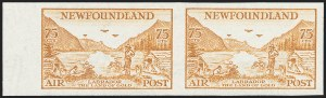 Sale Number 1226, Lot Number 1121, Canadian ProvincesNEWFOUNDLAND, 1933, 5c-75c Air Post, Imperforate (C13a-C17a), NEWFOUNDLAND, 1933, 5c-75c Air Post, Imperforate (C13a-C17a)