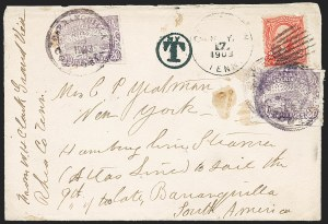 Sale Number 1226, Lot Number 1470, China, People's Republic thru Danish West IndiesCOLOMBIA, 1902, 20c Violet (202), COLOMBIA, 1902, 20c Violet (202)