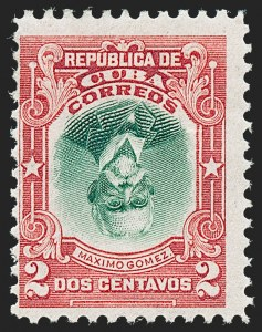 Sale Number 1226, Lot Number 1474, China, People's Republic thru Danish West IndiesCUBA, 1910, 2c Carmine & Green, Center Inverted (240a), CUBA, 1910, 2c Carmine & Green, Center Inverted (240a)