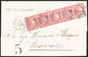 Sale Number 1226, Lot Number 1552, France - 1870 Bordeaux thru 1872 Large NumeralsFRANCE, 1872, 80c Rose on Pinkish Paper (63; Yvert 57), FRANCE, 1872, 80c Rose on Pinkish Paper (63; Yvert 57)