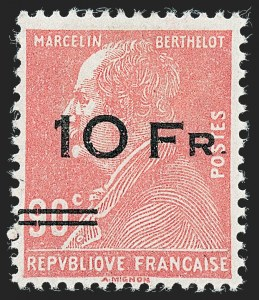 Sale Number 1226, Lot Number 1570, France - Air Post and Back-of-BookFRANCE, 1928, 10fr on 90c Ile de France, Air Post (C3; Yvert PA3), FRANCE, 1928, 10fr on 90c Ile de France, Air Post (C3; Yvert PA3)