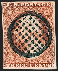 Sale Number 1227, Lot Number 2173, 3c-5c 1851-56 Issue (Scott 10-12)3c Orange Brown, Ty. II (10A), 3c Orange Brown, Ty. II (10A)