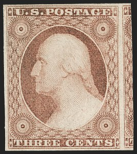 Sale Number 1227, Lot Number 2178, 3c-5c 1851-56 Issue (Scott 10-12)3c Dull Red, Ty. II (11A), 3c Dull Red, Ty. II (11A)