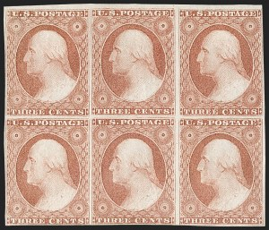 Sale Number 1227, Lot Number 2179, 3c-5c 1851-56 Issue (Scott 10-12)3c Dull Red, Ty. II (11A), 3c Dull Red, Ty. II (11A)