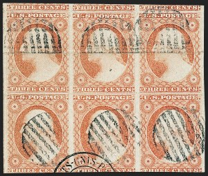 Sale Number 1227, Lot Number 2185, 3c-5c 1851-56 Issue (Scott 10-12)3c Dull Red, Ty. II (11A), 3c Dull Red, Ty. II (11A)