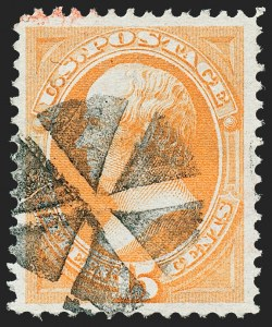 Sale Number 1227, Lot Number 2781, 1873 Continental Bank Note Co. Issue (Scott 156-166)15c Yellow Orange (163), 15c Yellow Orange (163)