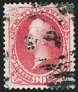 Sale Number 1227, Lot Number 2831, 1875 Continental thru 1879 American Bank Note Co. Issue (Scott 178-191)90c Carmine (191), 90c Carmine (191)
