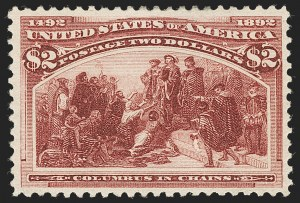Sale Number 1227, Lot Number 2929, $1.00-$5.00 1893 Columbian Issue (Scott 241-245)$2.00 Columbian (242), $2.00 Columbian (242)