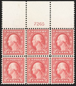 Sale Number 1227, Lot Number 3121, The Dr. Bernard S. Yudowitz Collection of Plate Blocks (Scott 432-834)2c Pale Carmine Red, Ty. I (461), 2c Pale Carmine Red, Ty. I (461)