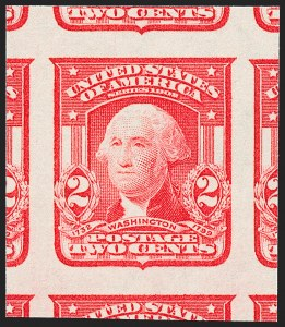 Sale Number 1227, Lot Number 3256, 1902-08 Issues, cont. (Scott 314-322)2c Carmine, Ty. I, Imperforate (320), 2c Carmine, Ty. I, Imperforate (320)