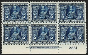 Sale Number 1227, Lot Number 3277, 1904 Louisiana Purchase, 1907 Jamestown Issues (Scott 323-330)5c Jamestown (330), 5c Jamestown (330)