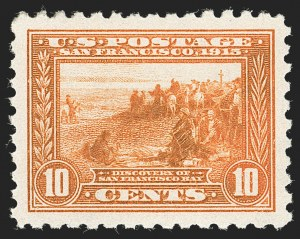Sale Number 1227, Lot Number 3381, 1913-15 Panama-Pacific Issue (Scott 397-404)10c Panama-Pacific, Perf 10 (404), 10c Panama-Pacific, Perf 10 (404)