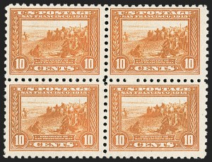 Sale Number 1227, Lot Number 3382, 1913-15 Panama-Pacific Issue (Scott 397-404)10c Panama-Pacific, Perf 10 (404), 10c Panama-Pacific, Perf 10 (404)