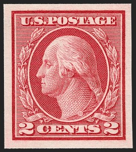 Sale Number 1227, Lot Number 3432, 1913-15 Washington-Franklin Issues (Scott 449-461)2c Carmine, Ty. I, Imperforate Coil (459), 2c Carmine, Ty. I, Imperforate Coil (459)