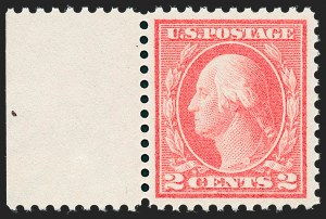 Sale Number 1227, Lot Number 3436, 1913-15 Washington-Franklin Issues (Scott 449-461)2c Pale Carmine Red, Ty. I (461), 2c Pale Carmine Red, Ty. I (461)